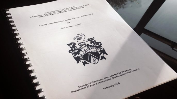 Doctoral Thesis submission