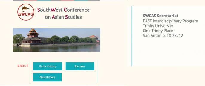 Presenting my new paper at The Southwest Conference, Trinity University, San Antonio, Texas, US